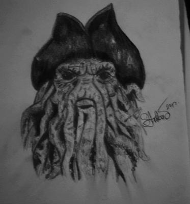 crtež-Davy Jones