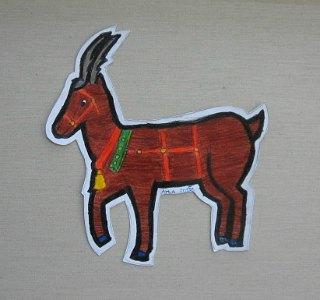 Irvas Rudolf,prostorni crtež-olovke u boji