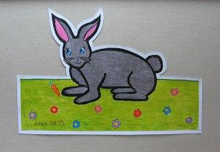 Zeka Mimi,prostorni crtež-olovke u boji