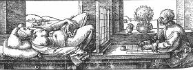 Albreht Duerer, naprava za kopiranje