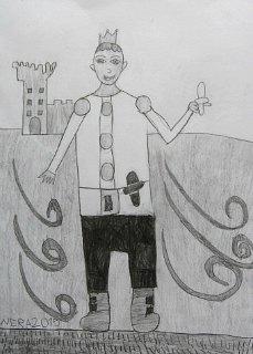 Princ Martin,crtež-olovka(6H,HB;3B)