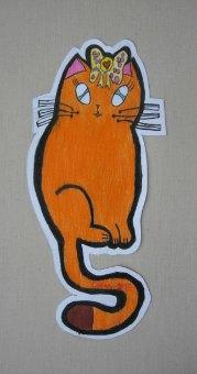 Maca Mašnica,prostorni crtež-olovke u boji