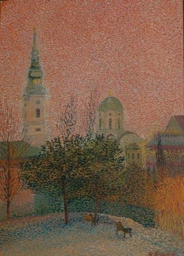 Ljiljana Glišović, Saborna crkva