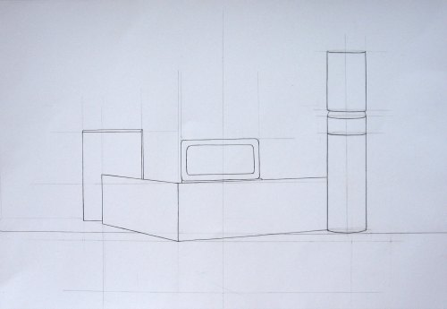 linijski konstruktivni crtež