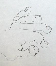 Slepo crtanje