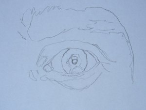 Kako nacrtati oko