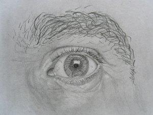Kako nacrtati oko-obrve