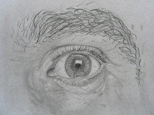 Kako nacrtati oko-vežba