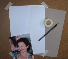Precrtavanje pomoću paus papirap