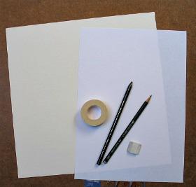 Precrtavanje skice na novi list papira