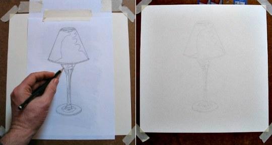 Precrtavanje skice