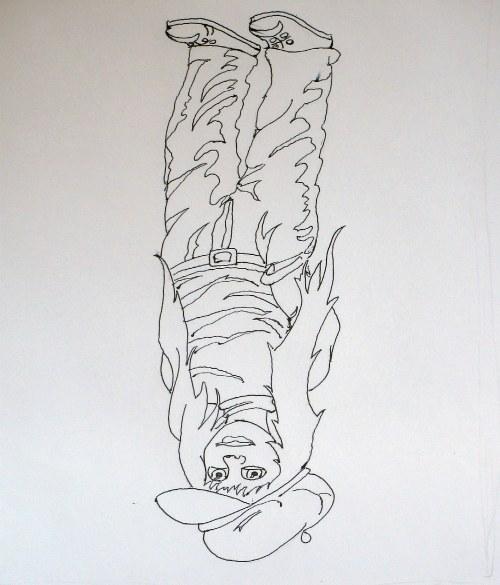 Crtanje naopako, vežba