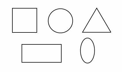 Crtanje pomoću geometriskih oblika