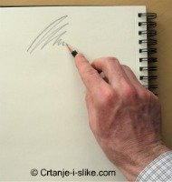 Kako držati olovku