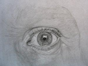 Kako nacrtati oko-trepavice
