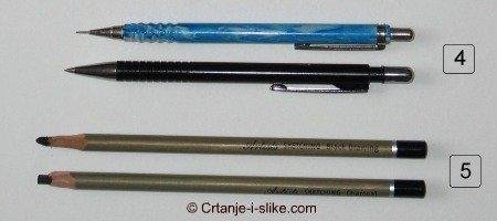 Tehničke olovke, Ugalj u Olovci