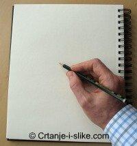 Držanje olovke u crtanju
