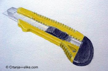Crtež drvene bojice